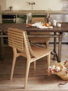 Market ou la chaise inspirée de nos étales de marché