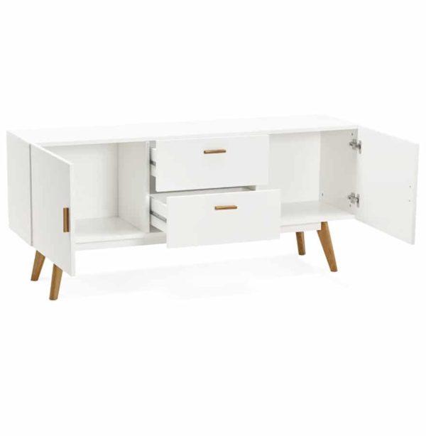 Bahut-design-´DIEGO´-en-bois-blanc-style-scandinave-1