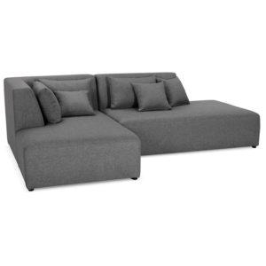 Canapé méridienne ´BELAGIO L SHAPE´ gris foncé canapé modulable angle à gauche 300x300 - Canapé méridienne ´BELAGIO L SHAPE´ gris foncé - canapé modulable (angle à gauche)