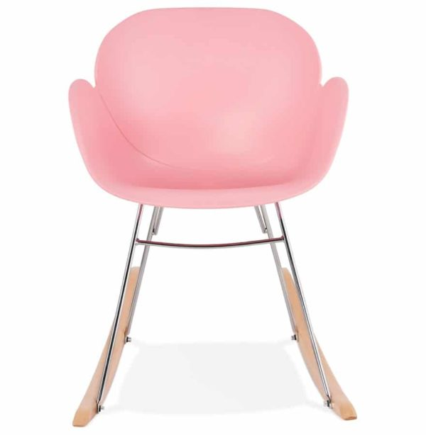 Chaise-à-bascule-design-´BASKUL´-rose-en-matière-plastique-1