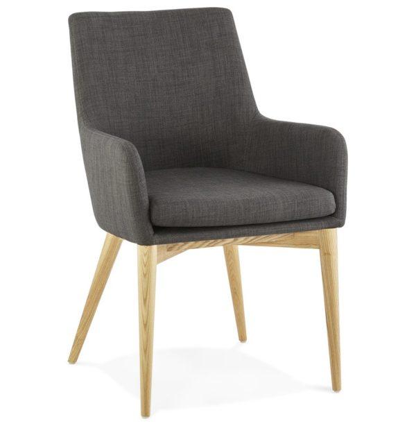 Chaise avec accoudoirs ´TEOPHIL´ style scandinave 600x614 - Découvrez 10 chaises design, modernes et pas chères