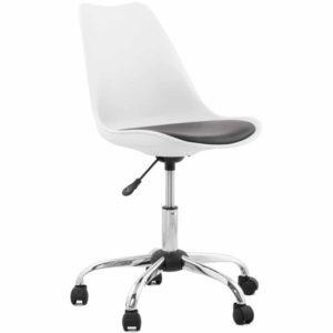 Chaise de bureau moderne ´SEDIA´ blanche et noire 300x300 - Chaise de bureau moderne ´SEDIA´ blanche et noire