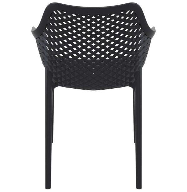 Chaise-de-jardin-terrasse-´SISTER´-noire-en-matière-plastique-1