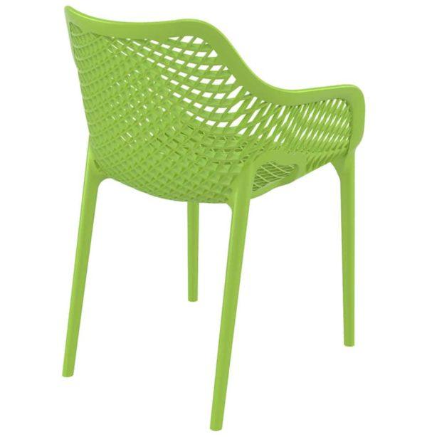 Chaise-de-jardin-terrasse-´SISTER´-verte-en-matière-plastique-1