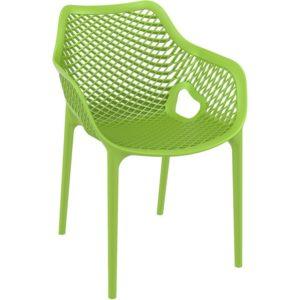 Chaise de jardin terrasse ´SISTER´ verte en matière plastique 300x300 - Mobilier Design et Scandinave