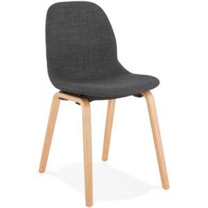 Chaise de salle à manger ´CELTIK´ en tissu gris style scandinave 300x300 - Mobilier Design et Scandinave