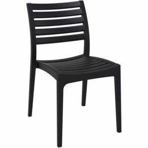 Chaise de terrasse ´PRIMO´ design noire