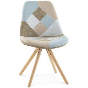 Chaise design ´ARTIST´ style patchwork