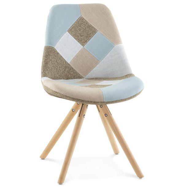 Chaise design ´ARTIST´ style patchwork 600x614 - Découvrez 10 chaises design, modernes et pas chères