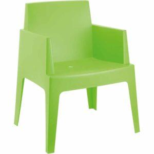 Chaise design ´PLEMO´ verte en matière plastique 300x300 - Chaise design ´PLEMO´ verte en matière plastique