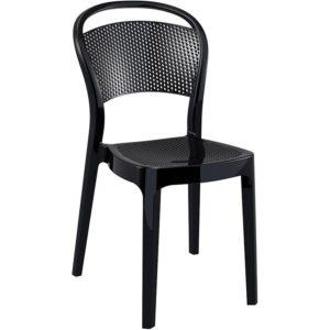 Chaise design ´STORM´ noire en matière plastique 300x300 - Chaise design ´STORM´ noire en matière plastique