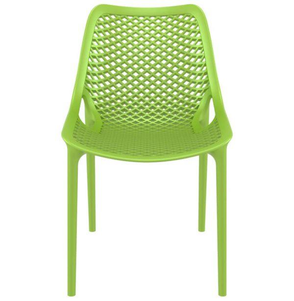 Chaise-moderne-´BLOW´-verte-en-matière-plastique-1