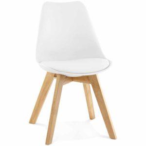 Chaise moderne ´TEKI´ blanche