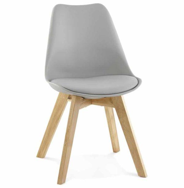 Chaise moderne ´TEKI´ grise 600x614 - Découvrez 10 chaises design, modernes et pas chères