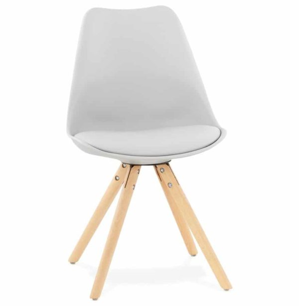 Chaise Scandinave GOUJA Grise