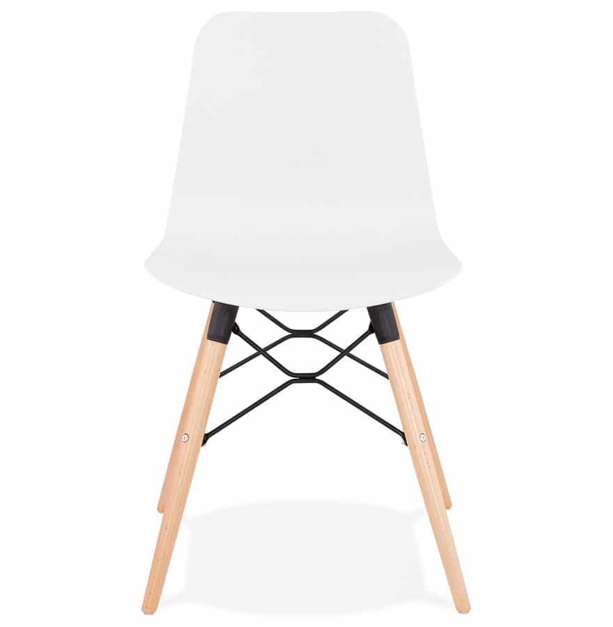 Chaise-scandinave-´TONIC´-blanche-design-1