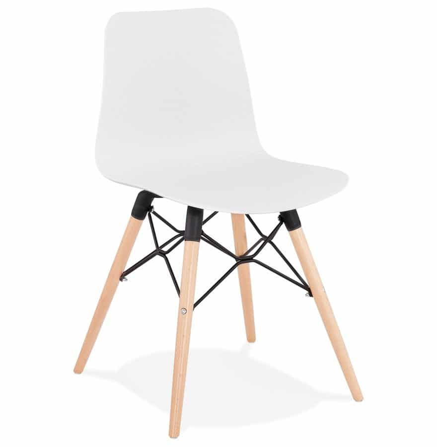 Chaise scandinave ´TONIC´ blanche design