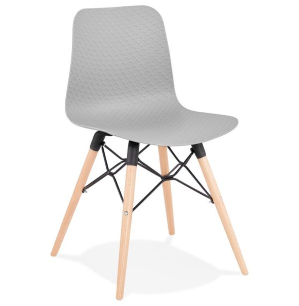 Chaise scandinave ´TONIC´ grise design