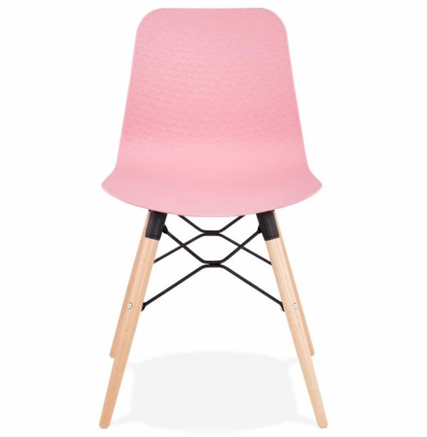 Chaise-scandinave-´TONIC´-rose-design-1