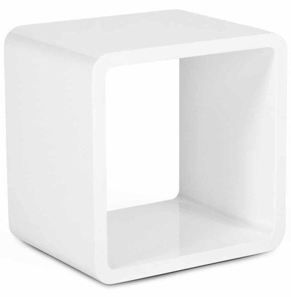 Cube de rangement ´KUBIC´ blanc empilable