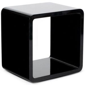 Cube de rangement ´KUBIC´ noir empilable 300x300 - Cube de rangement ´KUBIC´ noir empilable