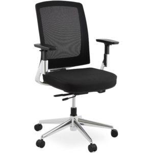 Fauteuil de bureau design ´ULTRA´ en tissu noir 300x300 - Fauteuil de bureau design ´ULTRA´ en tissu noir