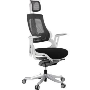 Fauteuil de bureau ergonomique ´TEKNIK´ en tissu noir