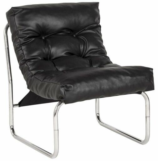 Fauteuil lounge ´LOFT´ noir