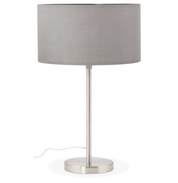 Lampe à poser ´LIVING MINI´ grise réglable en hauteur