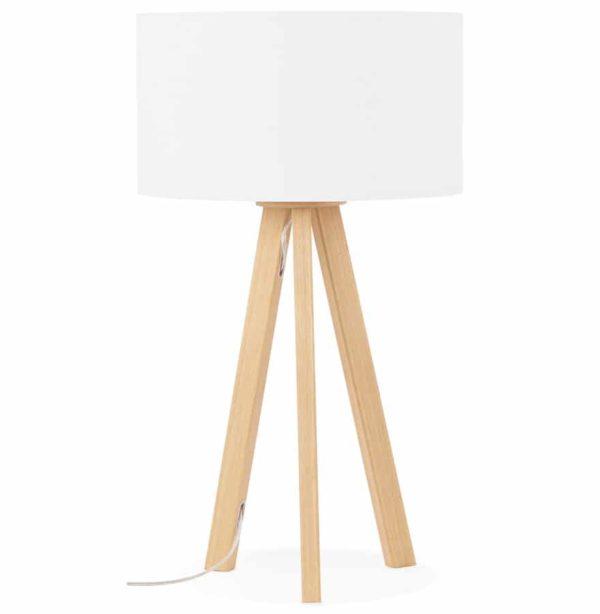 Lampe-à-poser-trepied-´SPRING-MINI´-avec-abat-jour-blanc-style-scandinave-1