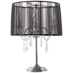 Lampe de chevet ´KLASSIK´ noire chandelier baroque à pampilles 300x300 - Lampe de chevet ´KLASSIK´ noire chandelier baroque à pampilles