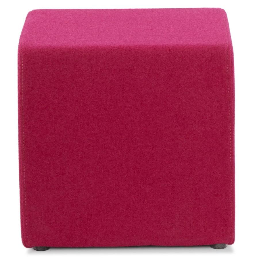 Petit-pouf-´CAYOU´-en-forme-de-cube-en-tissu-rose-1