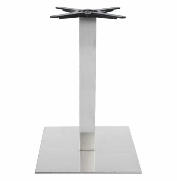 Pied-de-table-´KARO´-75-en-acier-brossé-1