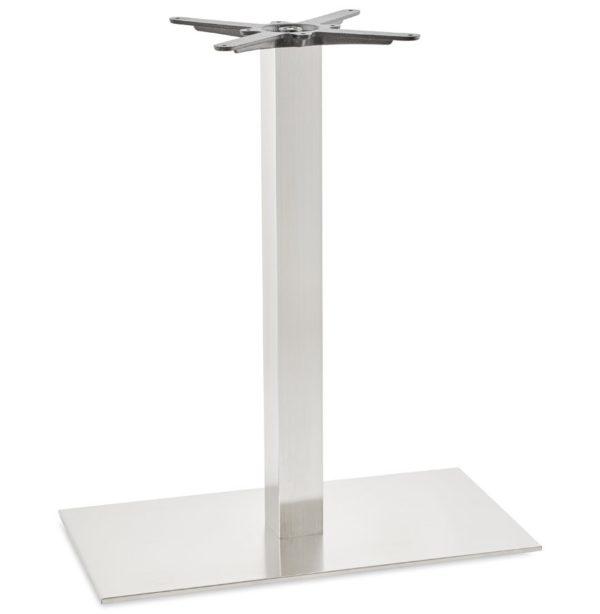 Pied de table ´KARO XL´ 90 en acier brossé