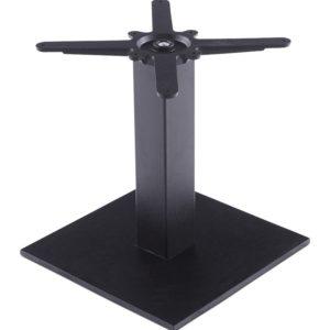 Pied de table ´NERO´ 45 noir en métal 300x300 - Mobilier Design et Scandinave