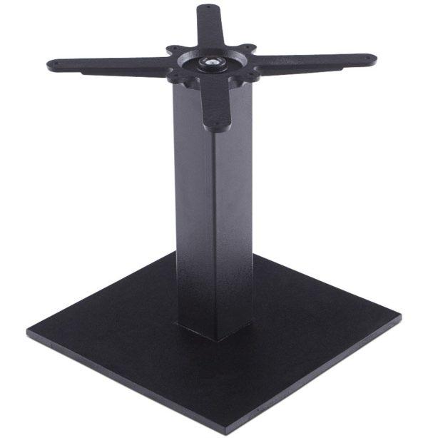 Pied de table ´NERO´ 45 noir en métal