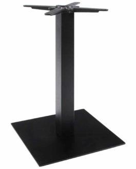 Pied de table ´NERO´ 75 noir en métal