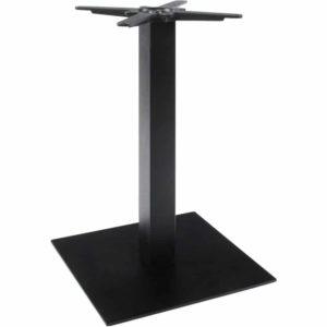 Pied de table ´NERO´ 75 noir en métal 300x300 - Mobilier Design et Scandinave