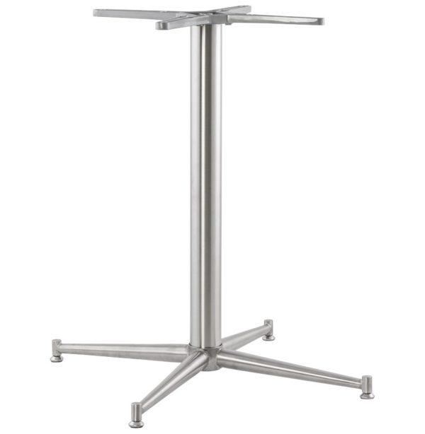 Pied de table ´TARGET´ 75 en acier inoxydable