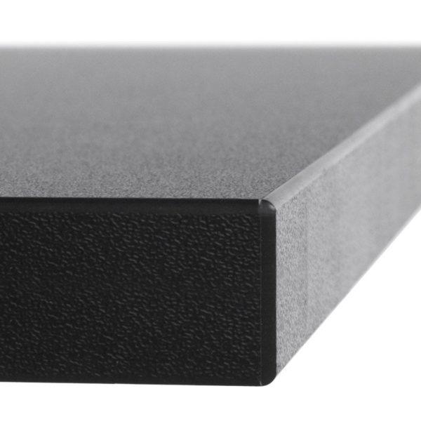 Plateau-de-table-´ZINC´-140x70cm-en-bois-noir-1