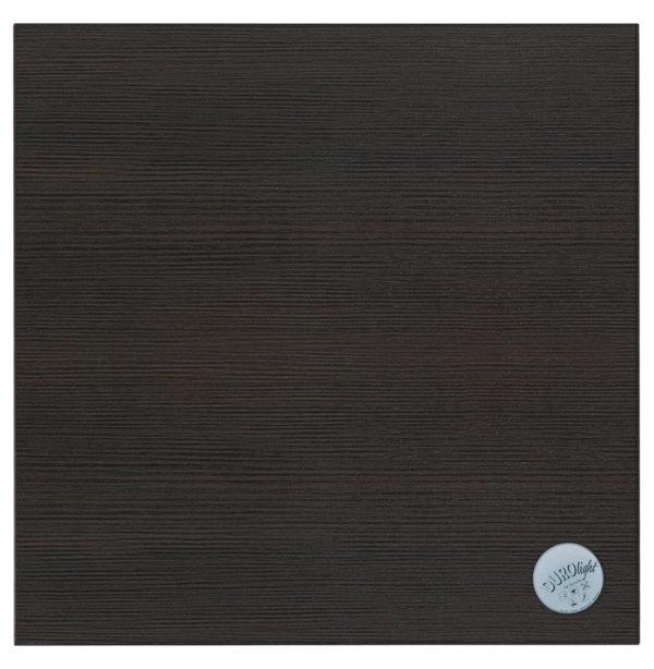 Plateau de table carré ´BRISTOL´ en bois finition Wengé - 68x68 cm