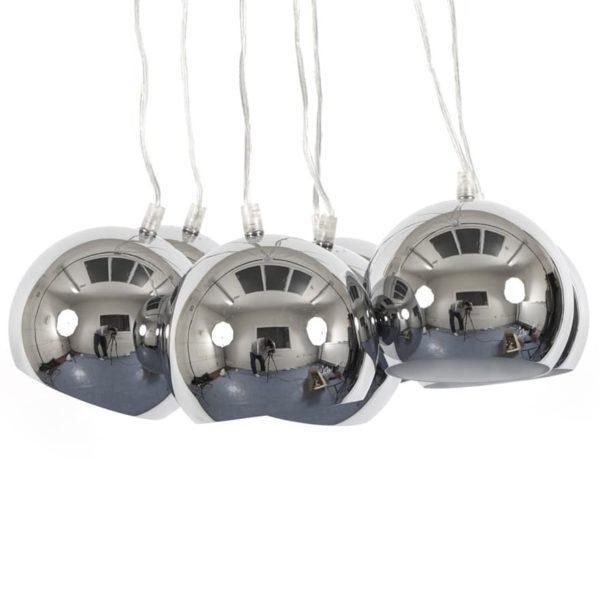 Suspension-design-´BILBO´-7-boules-métal-suspendues-1