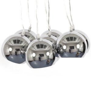 Suspension design ´BILBO´ 7 boules métal suspendues 300x300 - Décoration pas chère et moderne