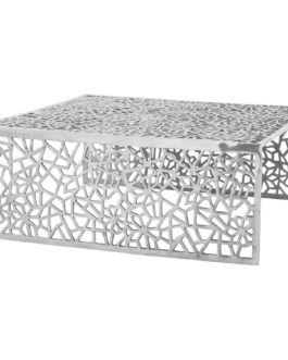 Table basse de salon ´ARANEA´ en aluminium