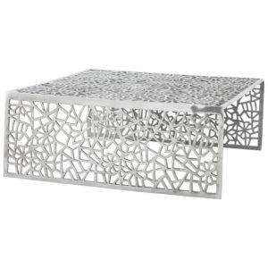 Table basse de salon ´ARANEA´ en aluminium