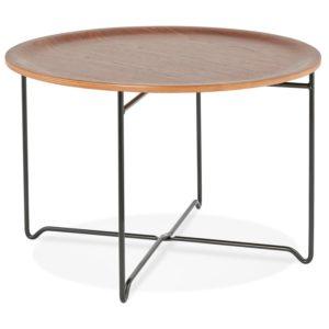 Table basse de salon ´IMOTEP´ noire style industriel