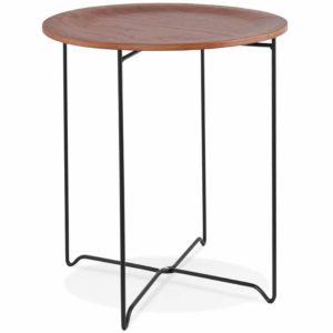 Table d´appoint design ´TSUNAMI´ noire style industriel 300x300 - Table d´appoint design ´TSUNAMI´ noire style industriel