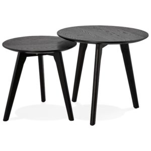 Tables gigognes ronde ´GABY´ noires 300x300 - Tables gigognes ronde ´GABY´ noires