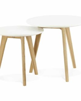 Tables gigognes ronde ´GABY´ style scandinave