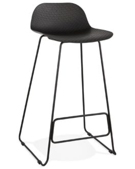 Tabouret de bar design ´BABYLOS´ noir design